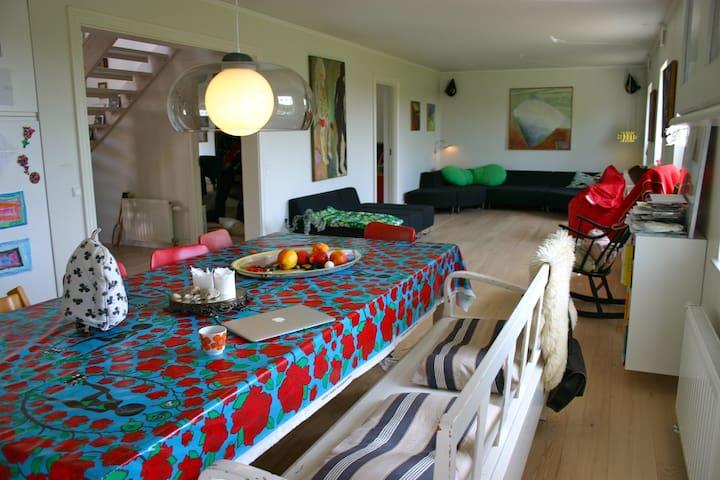 Modern villa in green surroundings - Borup - Villa
