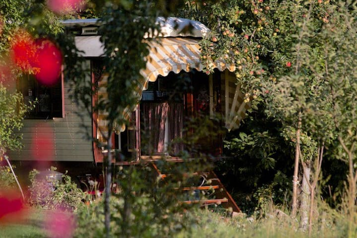 Romantic Authentic Gypsy Wagon  - La Chabanne - Andre