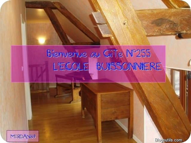 Gîte de France L École Buissonnière - Chéu - Hus