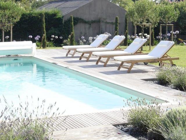 Beautiful house with swimming pool - Saint-Martin-du-Fouilloux - Haus