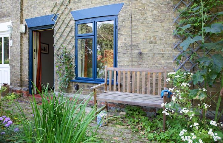 Victorian Suffolk cottage on green - Wickham Market - Hus
