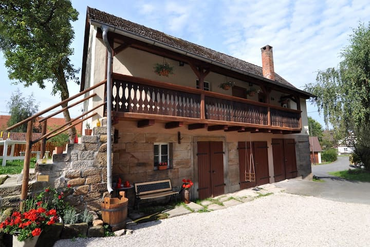 Landhaus Sahrhof - Trebgast - Casa