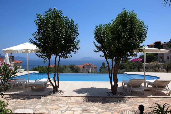 Mavi Manzara holiday home with pool - Kaş - Casa
