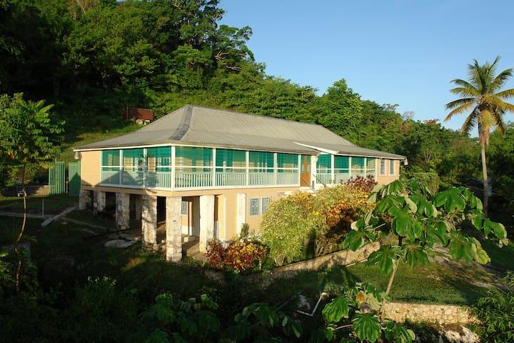 Retreat Plantation House - Negril - Huis