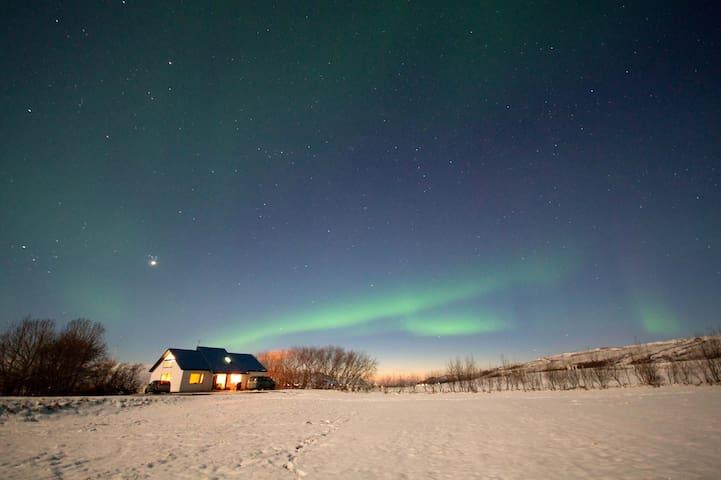 Nice night at a farm :) 1 - Þingeyjarsveit - House