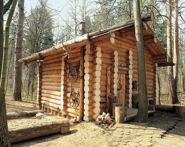 Дом-шале с камином под Звенигородом - Zvenigorod