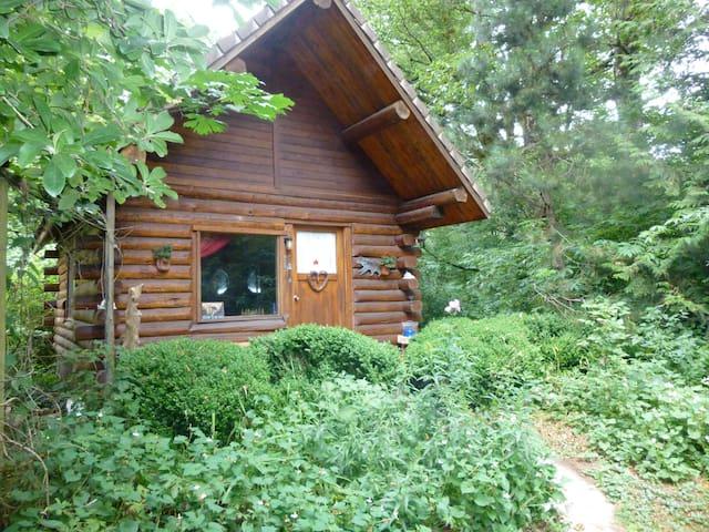 Cozy Log Cabin, Heart of the Gorge - Corbett - 小木屋