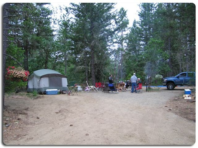 Beautiful Campsites in Southern OR - O'Brien - Tente