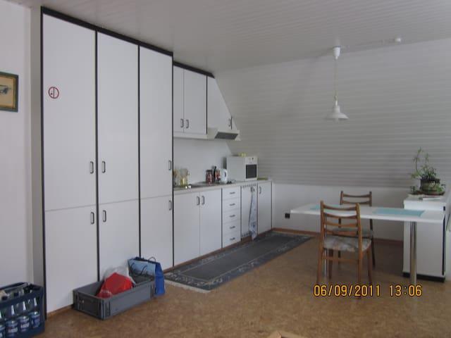 1 Zimmer Apartment mit Küche 48 m2 - Lotte - Appartement