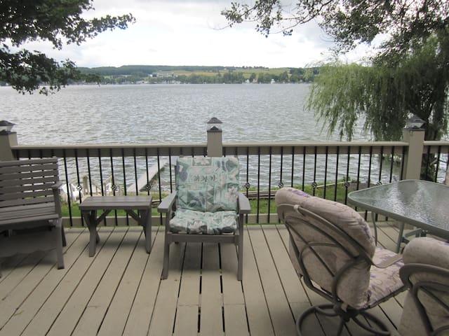 Lakefront Hideway in Western NY - Castile - Maison