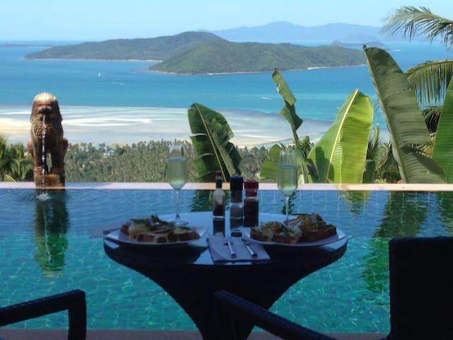 Villa Taling Ngam, Amazing Sea View - Ko Samui