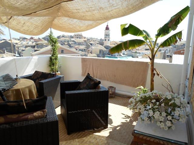 Beautiful Apartment in Corfu town - Corfu - Daire