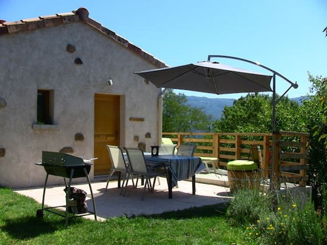 Holiday studio for rent in Ardèch. - Empurany - Leilighet