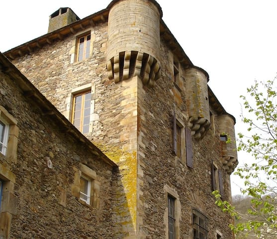 Welcome to Balaguier Castle cottage - Balaguier-sur-Rance - Huis