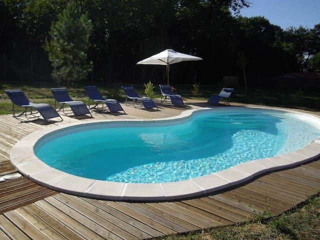 maison de campagne avec piscine - Sourzac - Casa