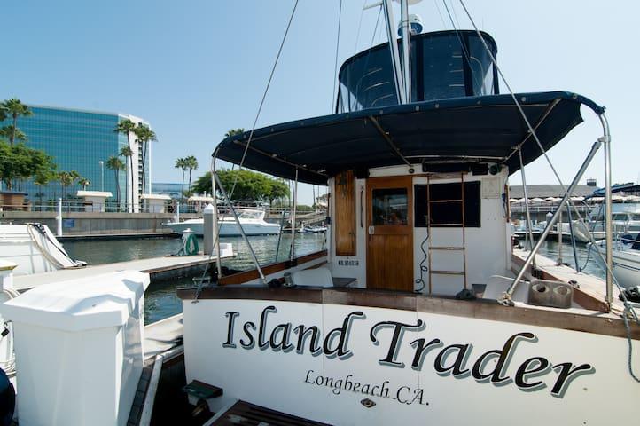 Cozy Boat at Shoreline Village - Long Beach - Tekne