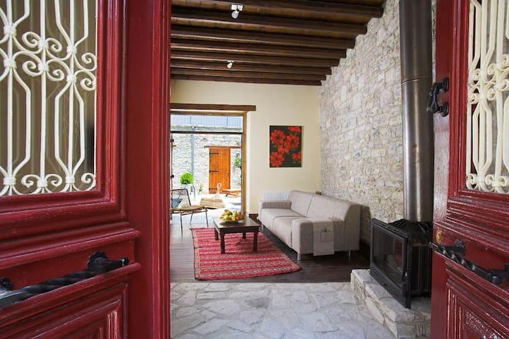 red door, 15' from the beach - Pano Lefkara - Rumah
