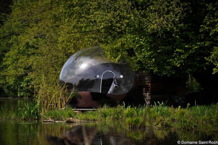 bulle sur l'eau - Couvin - Isla