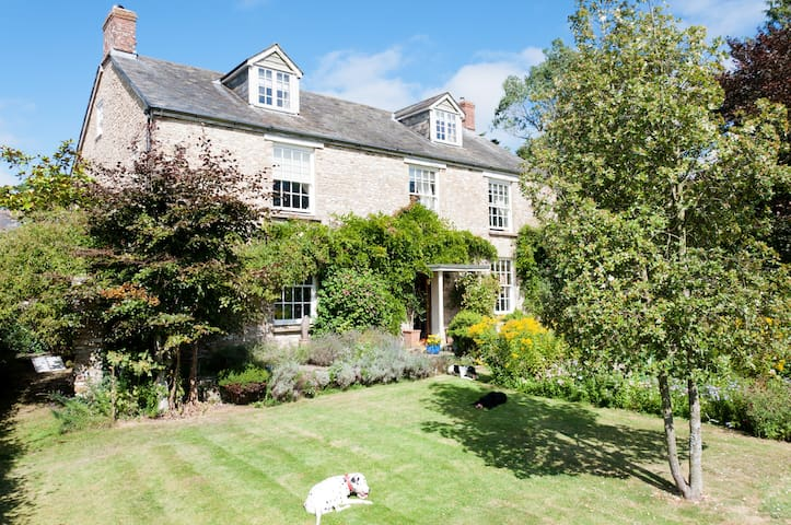 Quiet 5 bed farmhouse & indoor pool - Devon - Dom