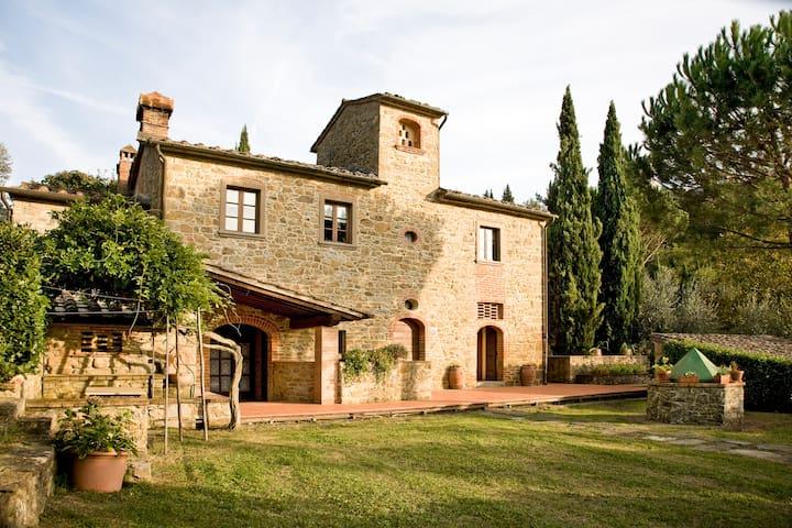 Charming independent villa Tuscany - Arezzo - Vila