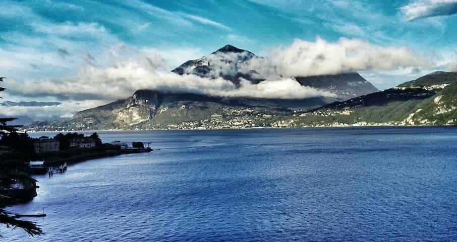 Cozy mansard at Lake Como - Bellano - Lejlighed