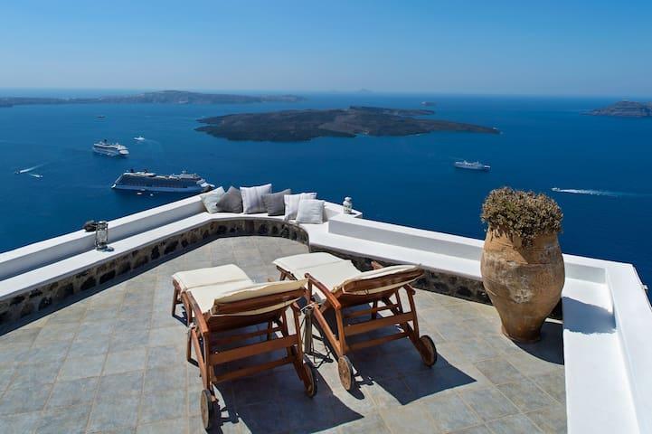 Miamo - Amazing view in Imerovigli - Imerovigli - Ev