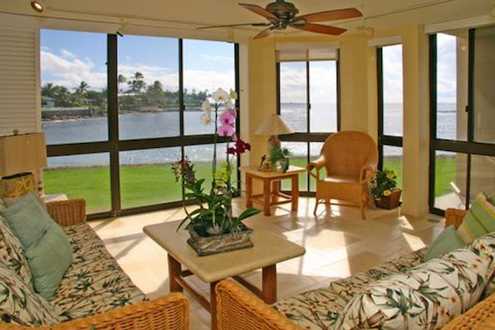 Wow! Best Oceanfront Location Condo - Poipu - Byt