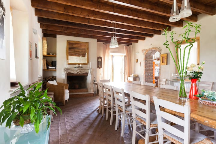 Typical farmhouse Cascina Serenella Garda Lake - Calcinato - Hus