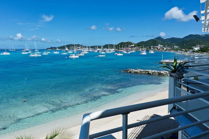 Superb Apartment Sea Panoramic View! - Baie de Marigot - Apartament