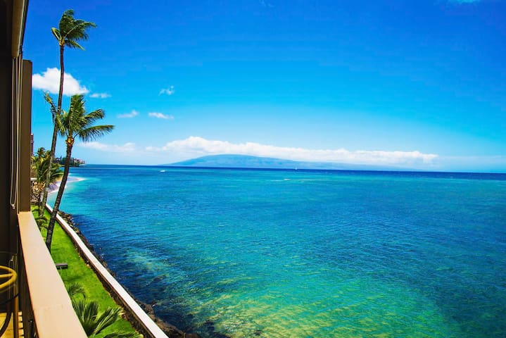 MAUI DIRECT OCEAN FRONT FOR REAL! - Lahaina - Appartement en résidence