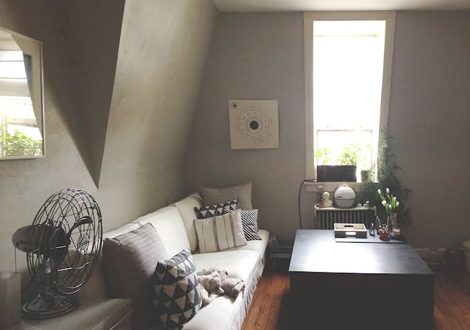 attic apt in downtown Wilkes-Barre - Wilkes-Barre - Daire