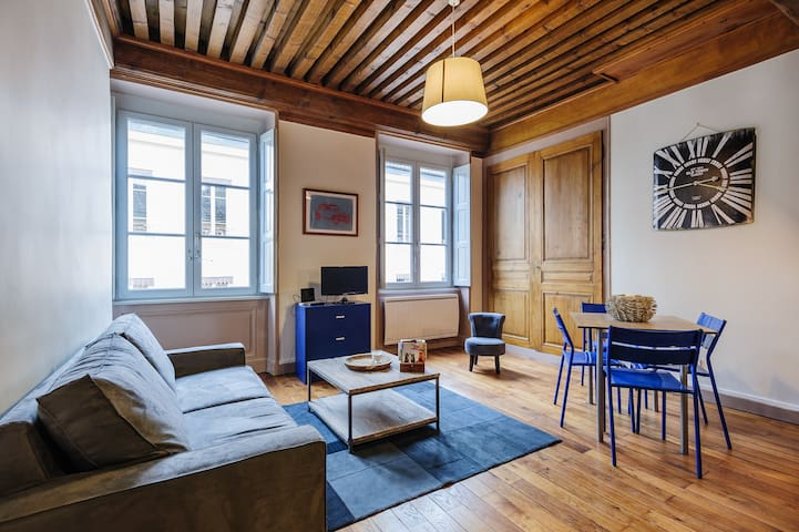 Cosy apartment in the Old Town 2 - Lyon - Departamento