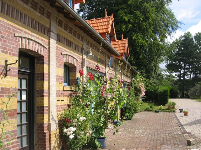 gite 4-6pers super confort 3 km mer - Derchigny - Huis