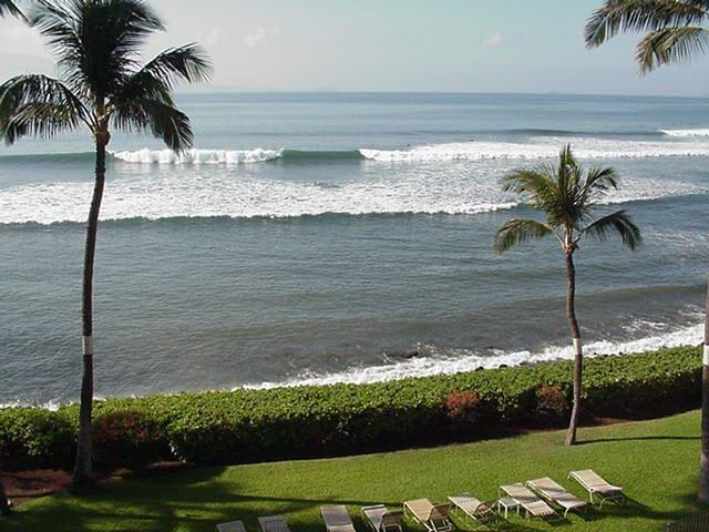 OCEANFRONT APT., PRIVATE LANAI !!! -  Ma'alaea, Wailuku - Daire