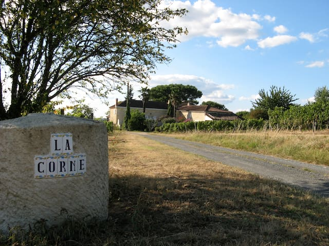 stay in a wine property with a soul - Le Pian-sur-Garonne - Ev