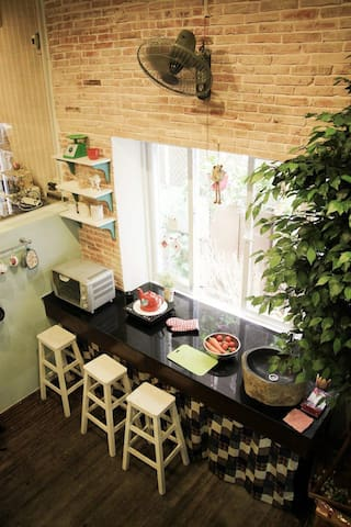 Vintage home including food - District 3 - Departamento