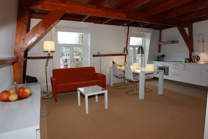 Top floor loft with kitchen - Haag - Loft-asunto