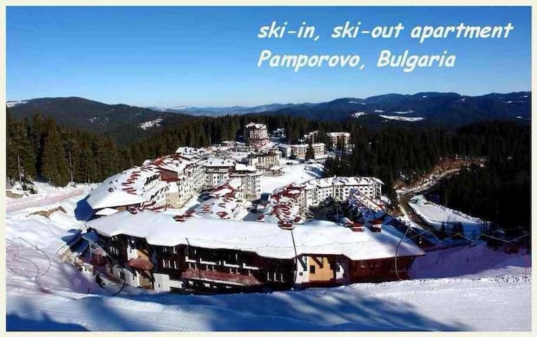 Cozy 2 Bed 2 Bath Apt on the slopes - Pamporovo  - Departamento