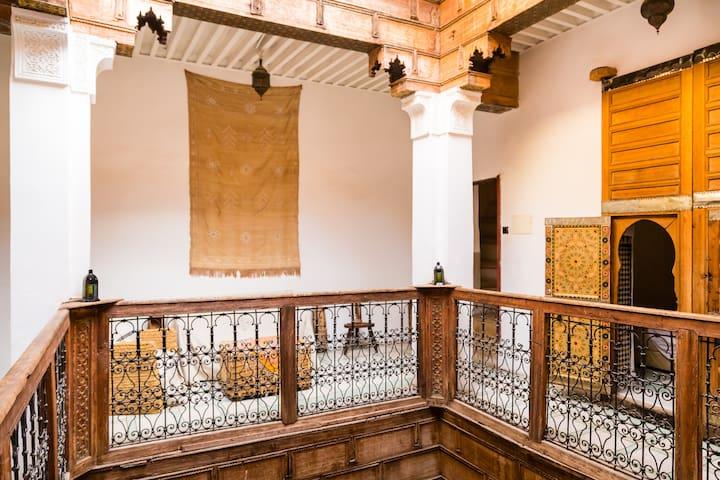 Medersa Room, Dar Rbab, Fes Medina - Fez - Bed & Breakfast