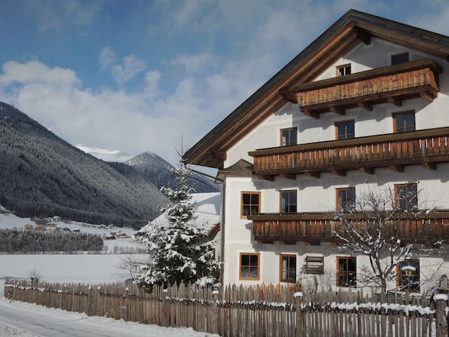 Farm holidays South Tyrol-Dolomites - Gsies - Daire