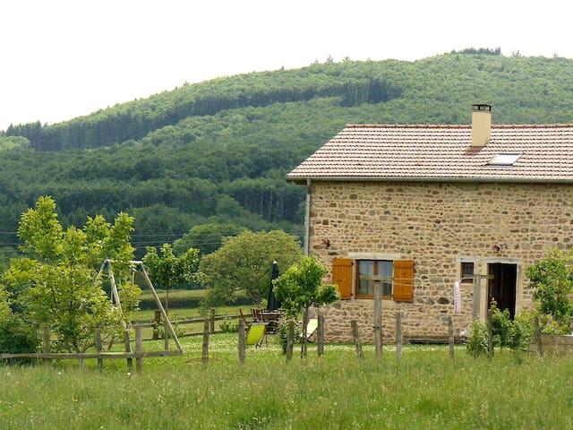 "Huis ""natuur"" in Zuid-Bourgondië! - Buffières - Natuur/eco-lodge"