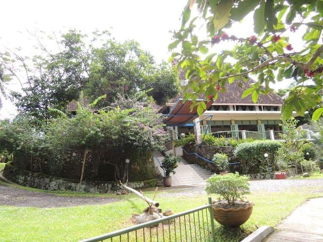 Cottages in tropical garden - Medan - Almhütte