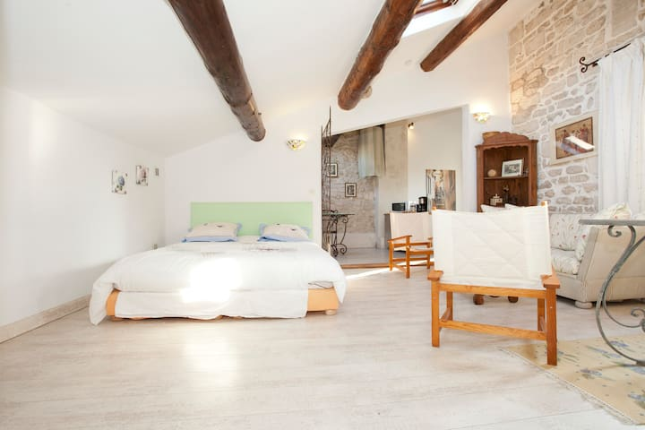Studio centre St Remy Wifi / Air-Con / TV - Saint-Rémy-de-Provence - Leilighet