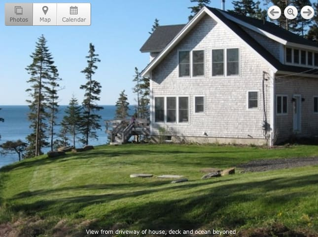Oceanfront home with stunning views - St. George - Huis