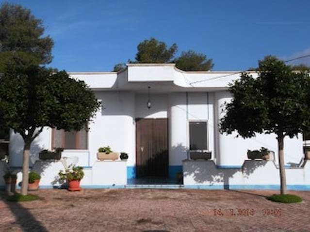 Large house with a large garden - Marina di Pulsano