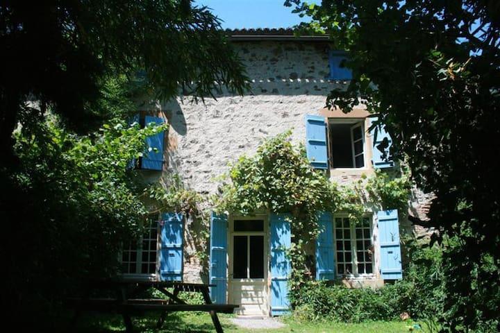 Gite Belle Vue inclusief tuinuis - Saint-Germain-de-Confolens - Leilighet