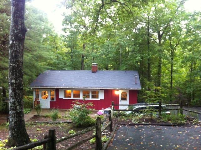 The Red Cabin | Blue Ridge Mountains - Waynesville - Cabaña