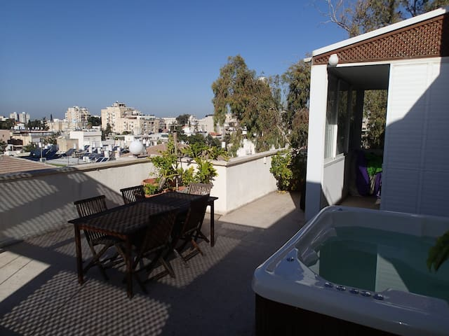 Large 4BR Penthouse with Extras... - Rehovot - Lägenhet