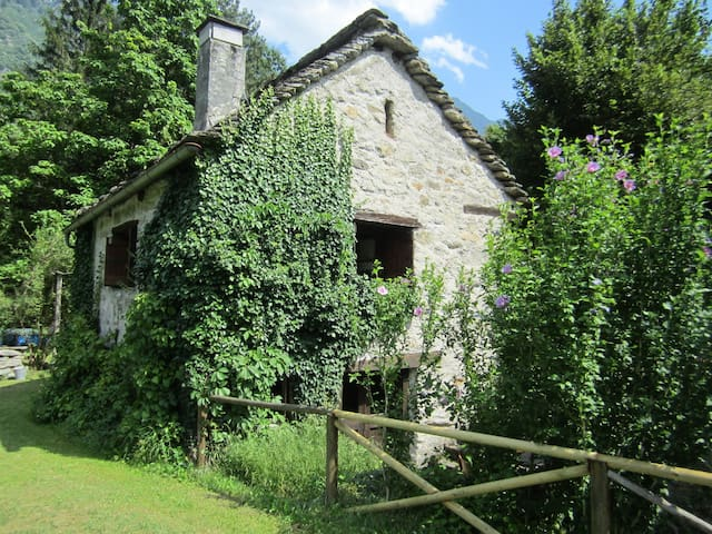MOUNTAIN COTTAGE IN VAL DI BLENIO - Ludiano - 獨棟