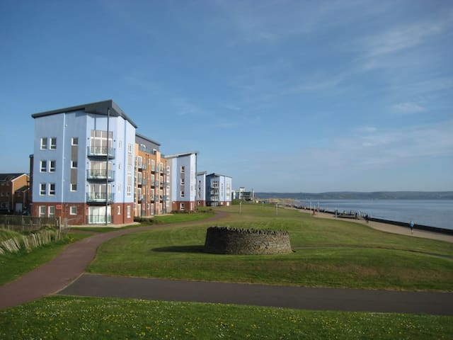 Gower View Penthouse - Llanelli - 公寓